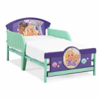 Barbie Purple and Green Toddler Bed.. - 1