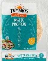 Tumaro's Low Carb Premium White Protein Wraps - 5 ct / 8.3 oz