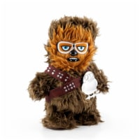 Star Wars Chewbacca Walk n Roar Plush and Porg Pin | 12 inches - 1
