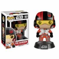 Star Wars Force Awakens POP Poe Dameron Bobble Head Vinyl Figure - 1 Unit