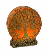 Sunset Orange Tree of Life Plug-In Small Table Lamp or Accent Light 6.5 inch - One Size