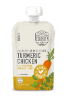 Serenity Kids Turmeric Chicken Pouch Baby Food - 3.5 oz