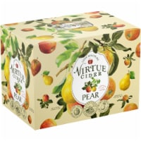 Virtue Cider Pear Hard Cider - 6 cans / 12 fl oz