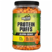 Twin Peaks Ingredients Jalapeno Cheddar Protein Puffs