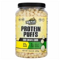 Twin Peaks Ingredients Sour Cream & Onion Protein Puffs