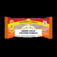 Tucson Tamale Green Chile Chicken Tamale