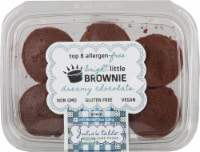 Julia's Table Gluten Free Dreamy Chocolate Bright Little Brownie 6 Count
