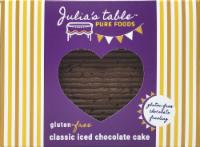Julia's Table Gluten Free Sheetcake - Iced Chocolate - 1.02 lb