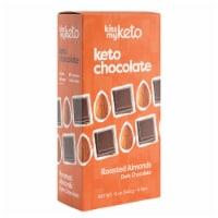 Kiss My Keto Dark Chocolate Almond Bars
