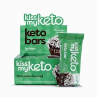 Kiss My Keto Chocolate Coconut Keto Bars - 12 ct / 1.76 oz