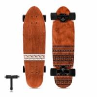 Mini Cruiser Skateboard Tribal - 1