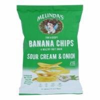 Melinda's - Banana Chip Scrm/onion - Case of 15 - 5 OZ - Case of 15 - 5 OZ each