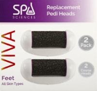 Spa Sciences Viva Replacement Pedi Heads 2 Pack - 2 pk