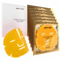 grace & stella Anti-Wrinkle + Energizing Face Masks (6 Pcs) - 6 Pieces