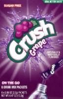 Crush Grape Drink Mix Packets