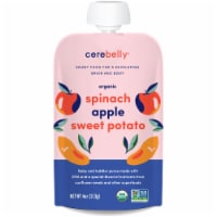 Cerebelly Organic Spinach Apple Sweet Potato Baby and Toddler Baby Food