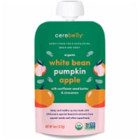 Cerebelly Organic White Bean Pumpkin Apple Baby and Toddler Baby Food