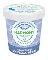 Harmony Valley Creamery Mayor Freddy's Vanilla Bean Ice Cream
