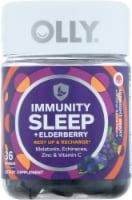 Olly Immunity Sleep + Elderberry Midnight Berry Gummies 36 Count