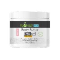 Sky Organics Almond Honey Body Butter with CBD