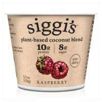 Siggi's Raspberry Plant Based Coconut Blend Yogurt
