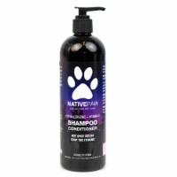 Native Paw Dog Shampoo | Hypoallergenic | Puppy Shampoo too | Concentrated | 100% Natural - 1 16oz bottle