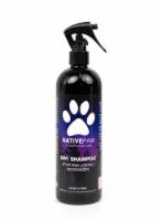 Native Paw Pet Moisturizing Odor Eliminating Dry Shampoo - 16 oz