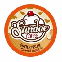 Sundae Ice Cream Flavored Coffee Pods, 2.0 Keurig K-Cup Compatible, Butter Pecan,48 Count