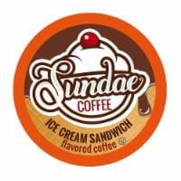 Sundae Ice Cream Flavored Coffee Pods, for 2.0 Keurig, Ice Cream Sandwich, 48 Count