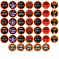 Best of the Best High Caffeine Strong and Regular Coffee Pods, Variety Pack, 40 Count