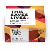 This Saves Lives Dark Chocolate Hazelnut Bars - 12 ct / 1.4 oz