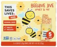 This Saves Lives Kids Beehive Jive Honey & Oat Bars - 5 ct / 0.88 oz