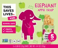 This Saves Lives Elephant Apple Crisp Bars - 5 ct / 0.88 oz