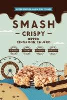 Smash Mallow Cinnamon Churro Dipped Rice Treat