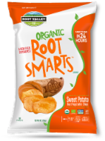 Root Valley Farms Root Smarts Organic Sweet Potato Vegetable Chips - 6 oz