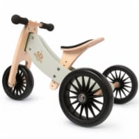 Kinderfeets Tiny Tot PLUS Toddler 2-in-1 Balance Bike and Tricycle, Silver Sage - 1 Unit