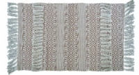 Chicos Home Modern Area Rug with Fringe