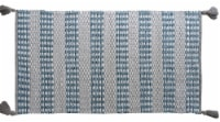 Chicos Home Modern Area Accent Rug with Fringes - 2 x 3.75 ft