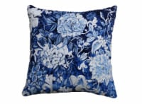 ChicosSong of Night Home Decorative Pillow Cover - Blue/White