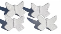 Vibhsa Butterfly Napkin Rings - White