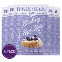 Sweet Logic Blueberry Mug Cake  (5-Pack) - 5 Units