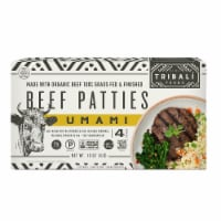 TRIBALI Foods Umami Beef Patties 4 Packages (Approximate Delivery 3-6 Days)