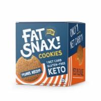 Fat Snax Peanut Butter Keto & Gluten Free Snack Cookies