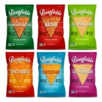 Beanfields 6-Favorite Flavor Pack, 5.5oz/6 count, Vegan Snack - 5.5oz/6 count