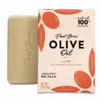 Peet Bros. Olive Oil Aloe Moisturizing Bar Soap