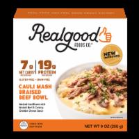 Realgood Creamy Mashed Cauliflower & Braised Beef