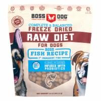 Boss Dog Brand BD02410 12 oz Freeze Dried Raw Diet Fish for Dog
