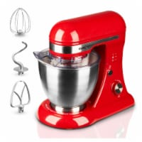 Geek Chef GSM45B Stainless Steel 4.8 Quart Bowl 12 Speed Baking Stand Mixer, Red - 1 Unit