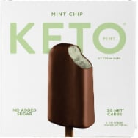 Keto Pint Mint Chip Ice Cream Bars