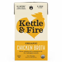 Kettle & Fire Traditional Chicken Broth - 32 oz